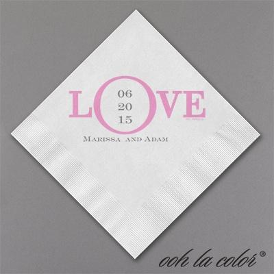 Love Date Napkin