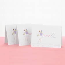 Bridal Shower - Thank You Card and Envelope