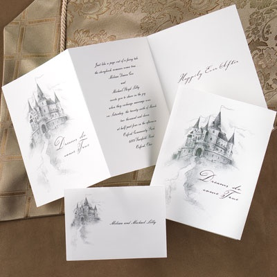 Fairy Tale Wedding Invitations is an amazing ideas you had to choose for invitation design