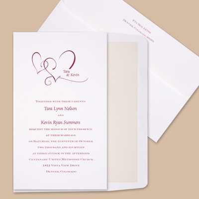 Wedding Invitations on All Wedding Invitations   With Love   Invitation From Ann S Bridal
