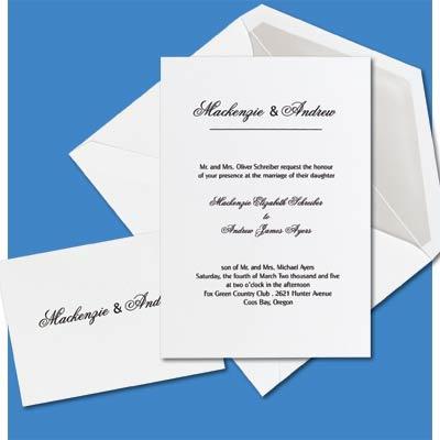 simple wedding invitation wordings