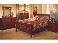 6 Piece Mission Hills Bedroom Set