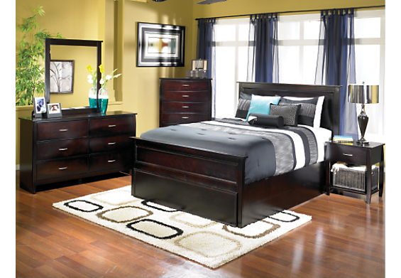 7 Piece Queen Avon Espresso Bedroom Set , (1888QPK7) | The Brick