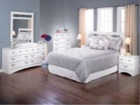 Capeland 4 Piece Queen Bedroom Package