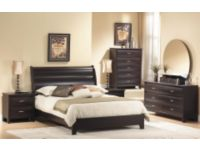 Mocha 6 Piece Queen Bedroom Set