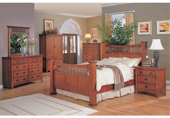 Sawn oak mission craftsman ca mission oak bedroom set cardkeeper co