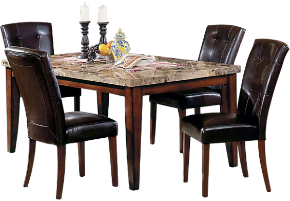 What does your dining room table look like for Dining room tables the brick
