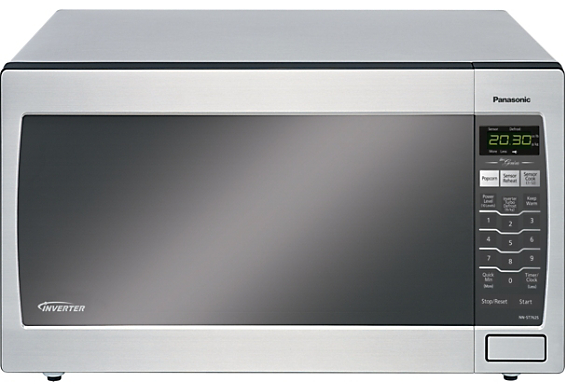 Panasonic 1.6 Cu. Ft. Genius Countertop Microwave Oven - Stainless ...
