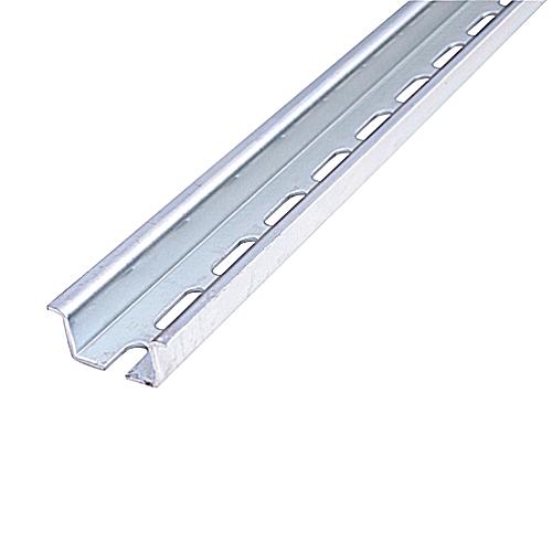 ABB 010159826 Entrelec TS35CF Steel Din Rail; 2 Meters