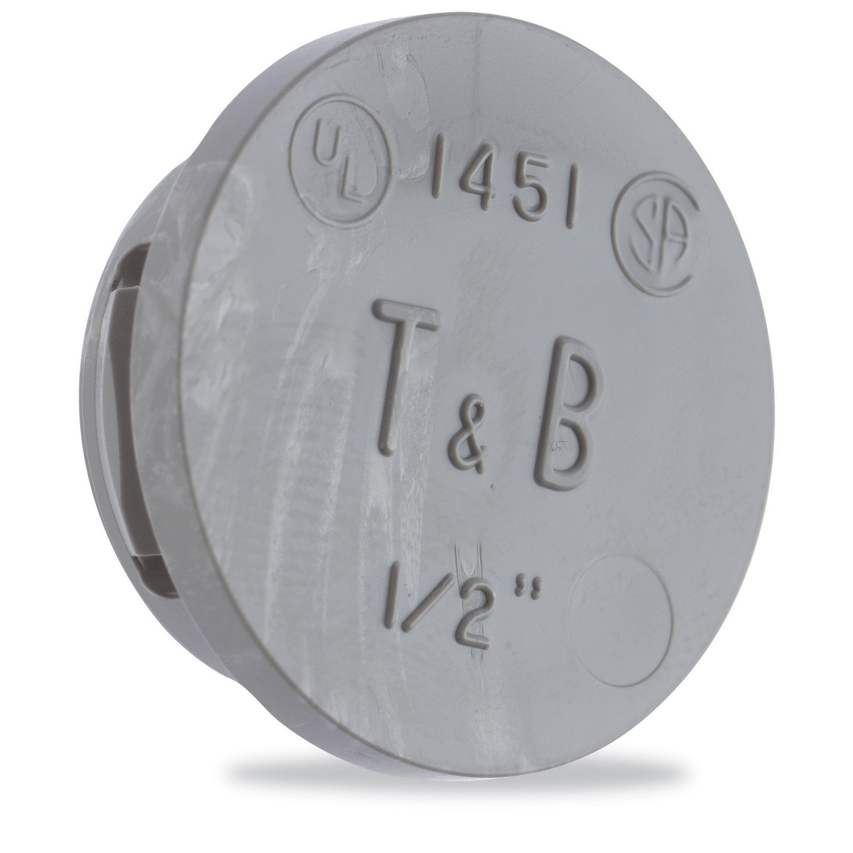 T&B 1453 1-IN SNAP-IN KO BLANK