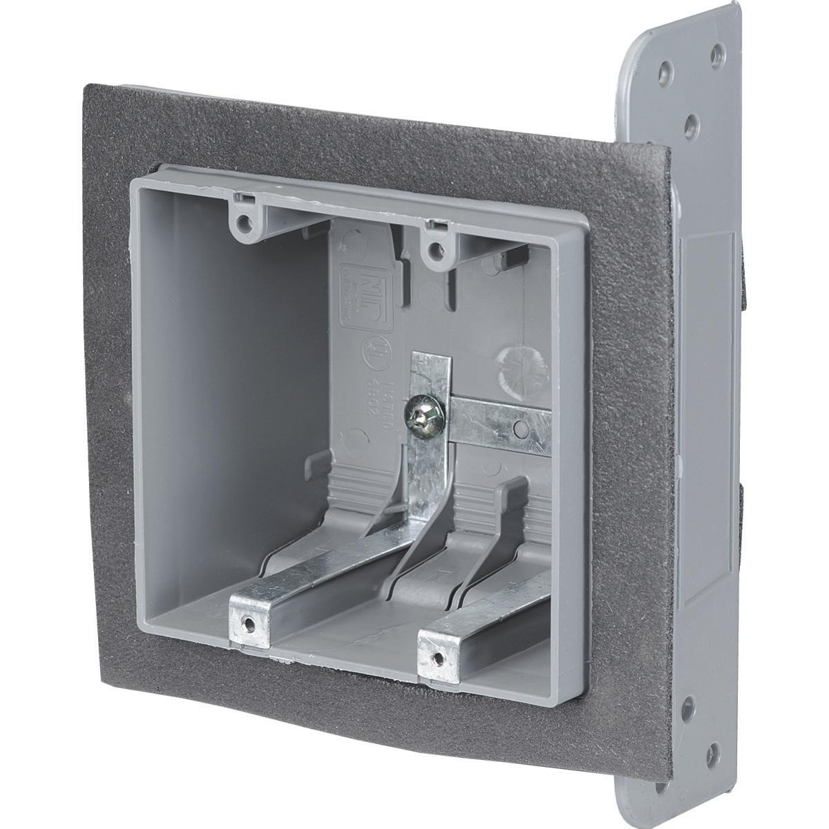 NU 2-FWSW-US TWO GANG AIRTIGHT BOX