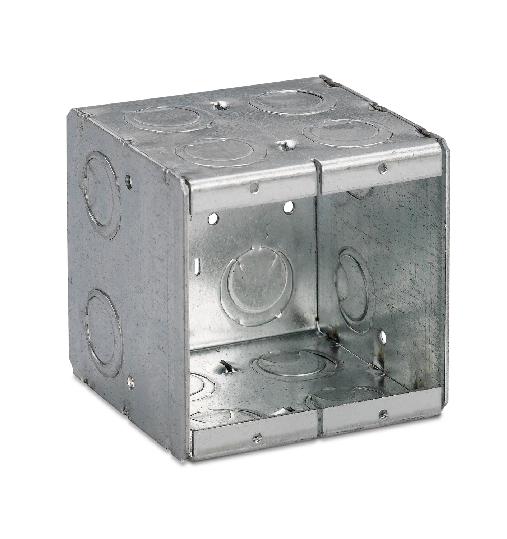 "NS TB 2-MB MASONRY BOX 3 1/2"" DEEP, 2 GANG"
