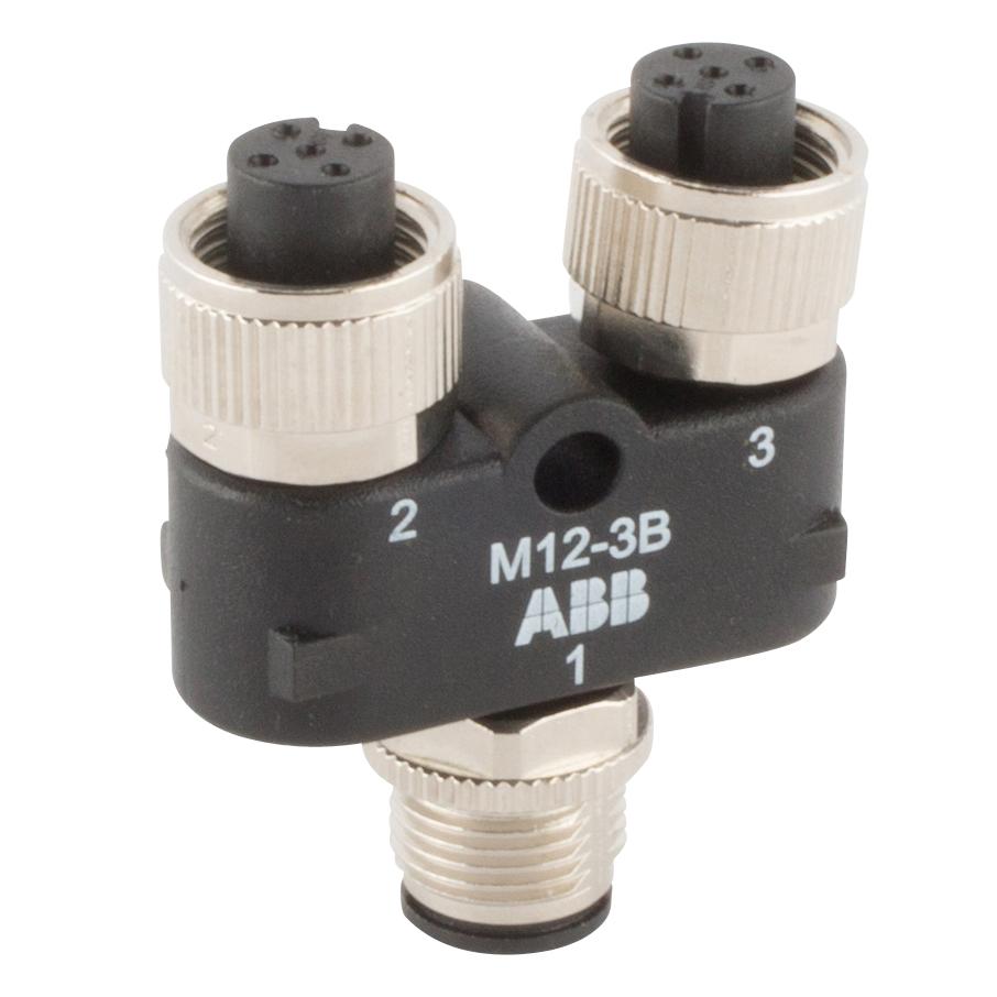 2TLA020055R0100 JOKAB M12-3B M12 Y-CONNECTOR TYPE ABB 88861409609