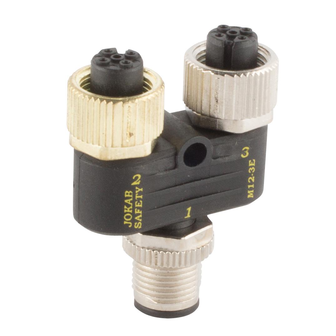 2TLA020055R0200 JOKAB M12-3E M12 Y-CONNECTOR