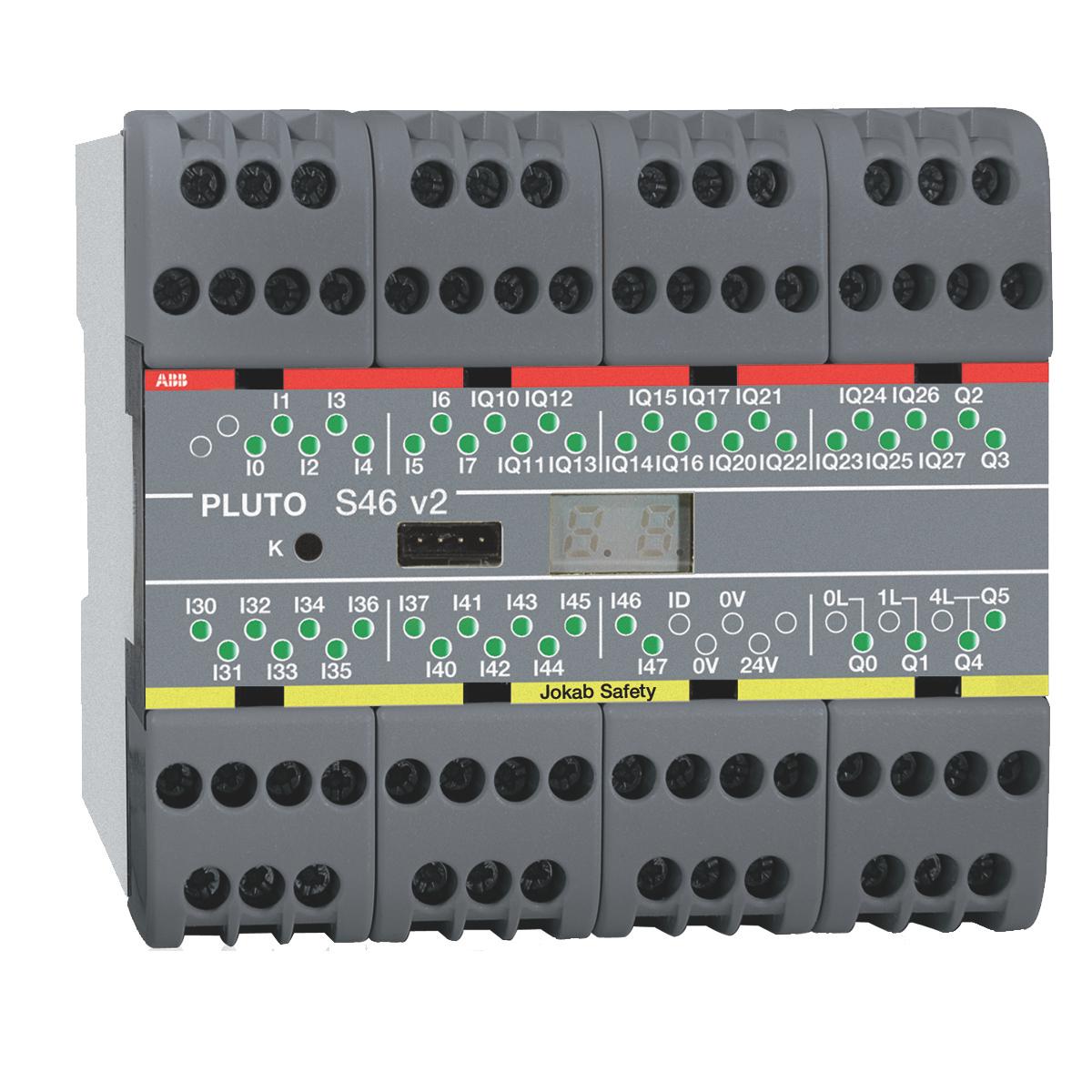 2TLA020070R1800 JOKAB PLUTO S46 V2 SAFETY PLC