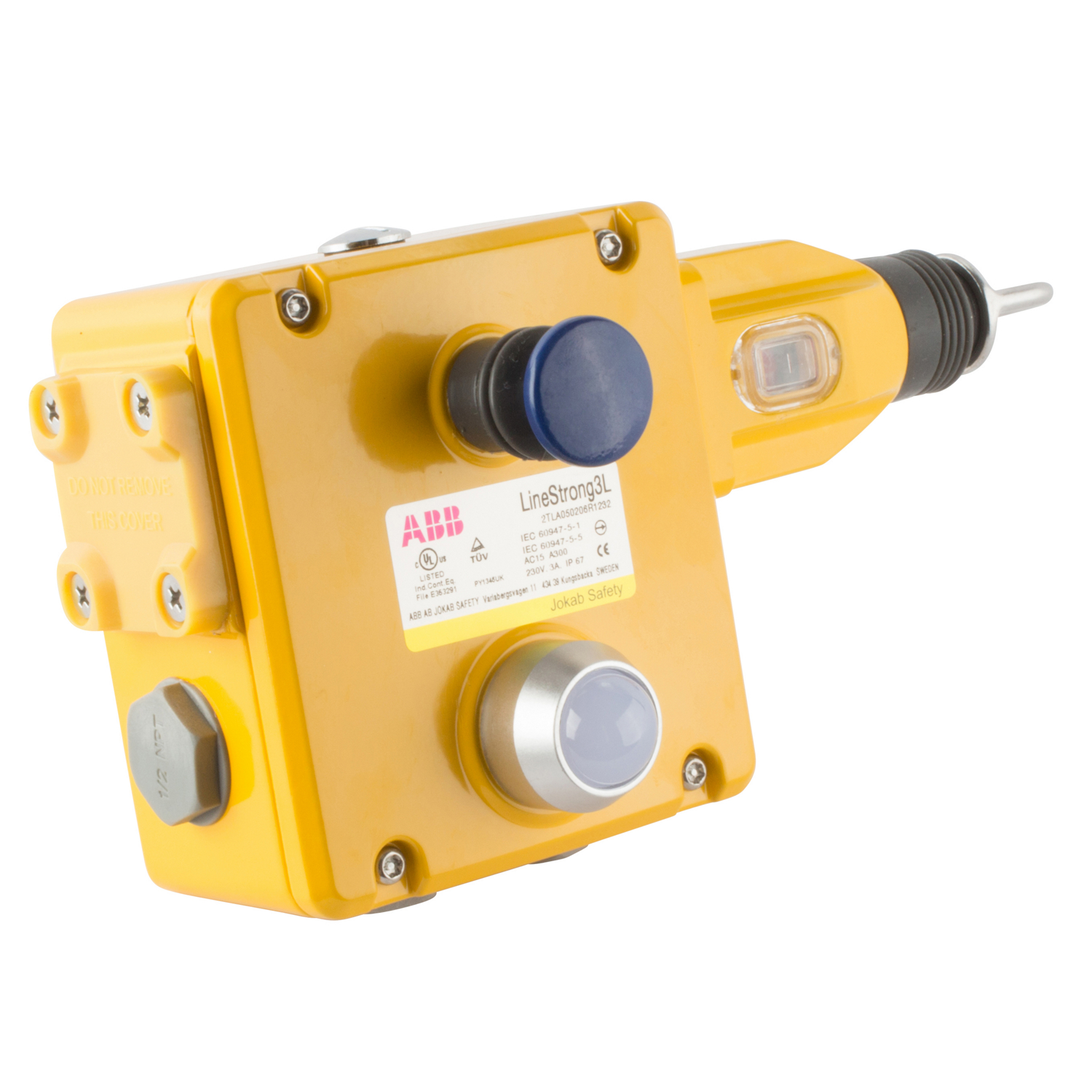 ABB 2TLA050206R1232 Jokab Safety Rope Pull Switch