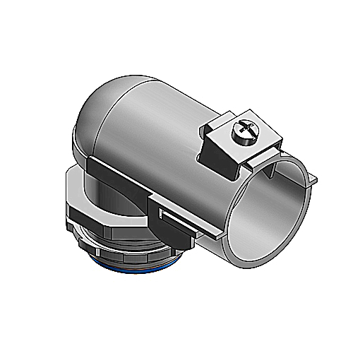 Thomas & Betts 3143 3-1/2 In 90 Degree Insulated Stainless Steel Flexible Connector
