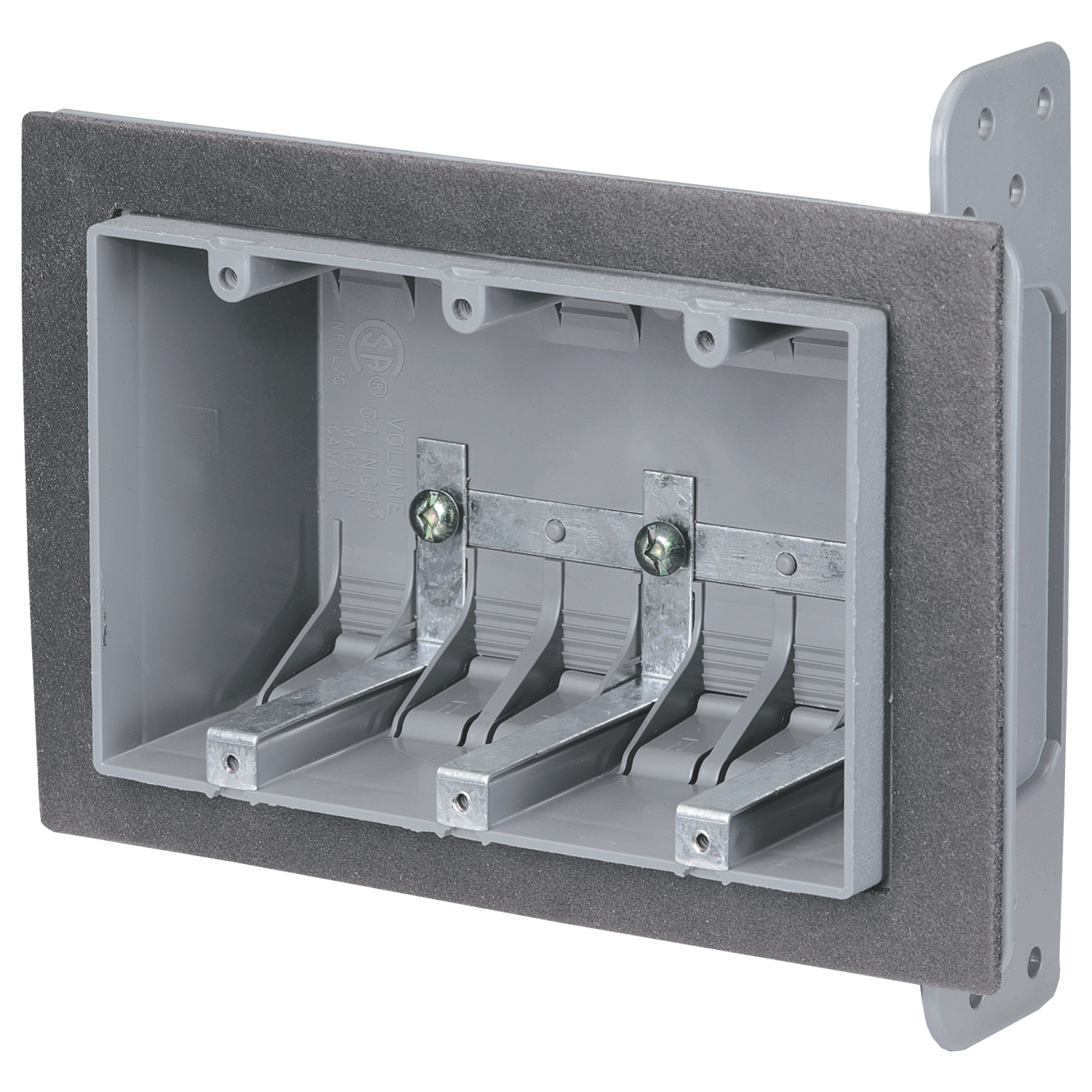 NuTek,3-FWSW,THREE GANG AIRTIGHT DEVICE BOX