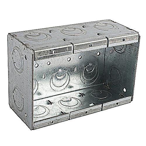 Bowers 3-MBS 3-Gang Steel Masonry Box