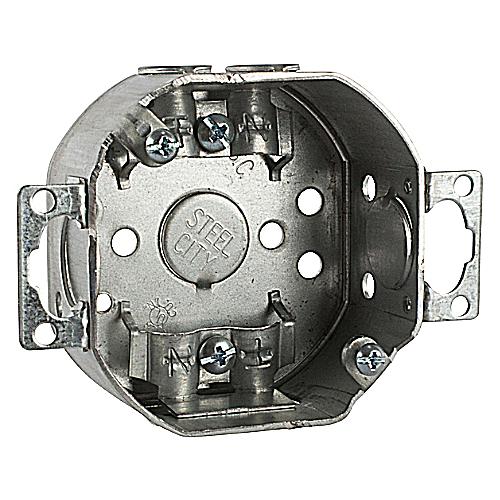 Bowers 3-O-LCE 3-1/2 BX W/EARS&CLMP