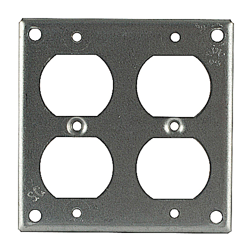 Bowers 452-NEC 4-Inch Steel Square Box Surface Cover
