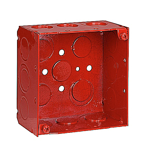 Steel City 52171-1234RD  Fire Alarm Box