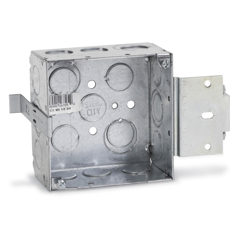 STL-CTY 52171MS-1/2&3/4 4SQ BOX