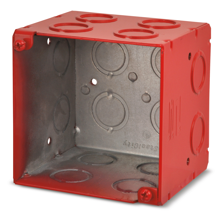 STL-CTY 521911234RD 4Sq-3.5Dp Red