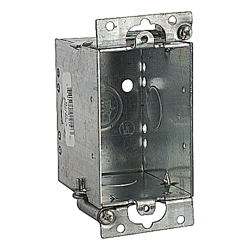 Bowers 53-OWE 3 in. x 2 in. x 2 3/4 in. Steel Switch Box