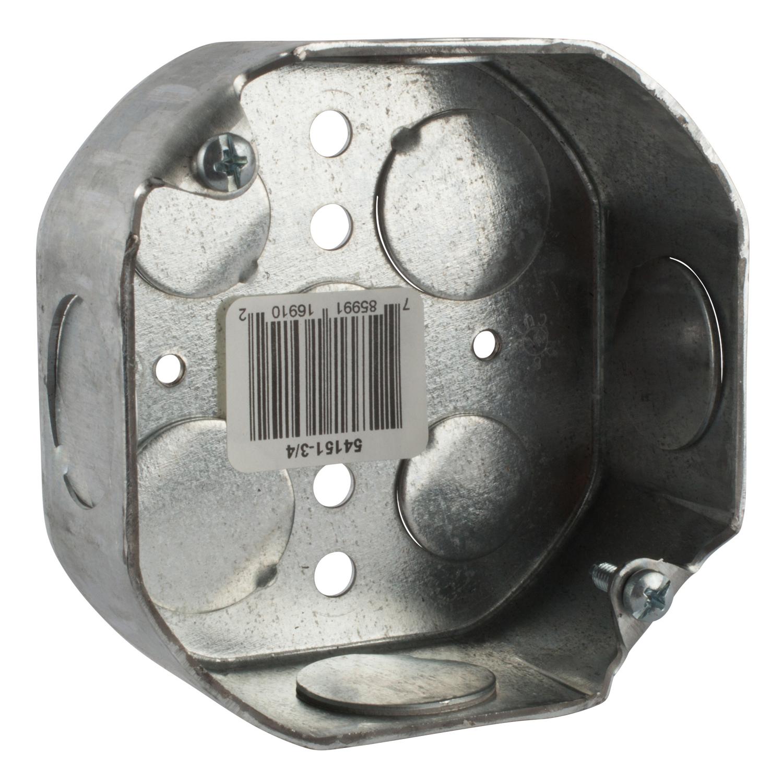 STL-CTY 54151-3/4 STEEL ELECT. BOX