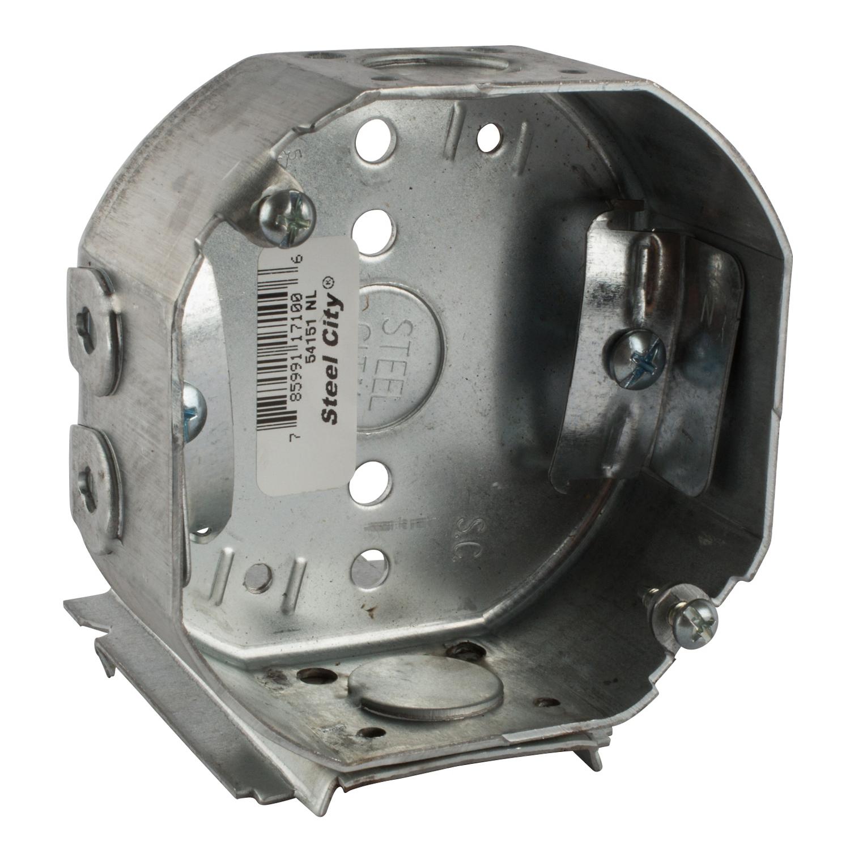 STL-CTY 54151-NK 4 OCT NMC BOX&HGR | Gordon Electric Supply, Inc.