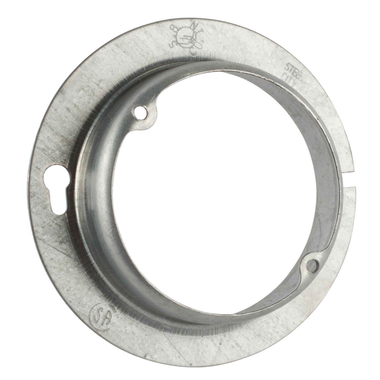 STL-CTY 54C3-1 4RND 1D PLASTER RING