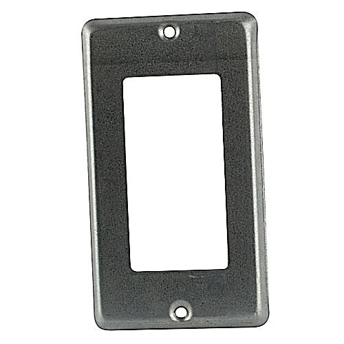 Steel City 58-C-16 1-Gang Steel GFCI Utility Device Cover