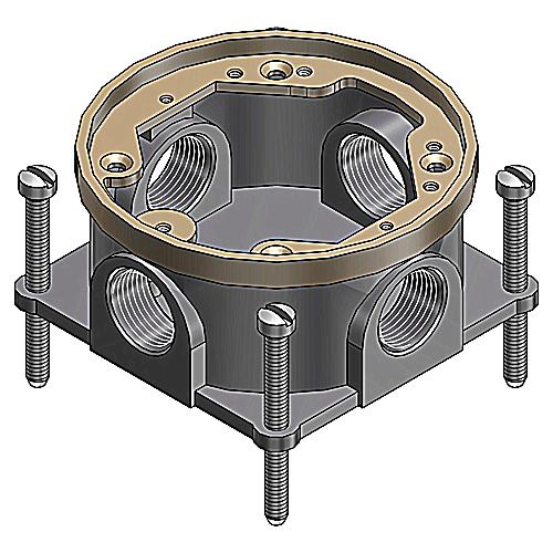 604-SC SC-KIND CAST IRON FLOOR BOX