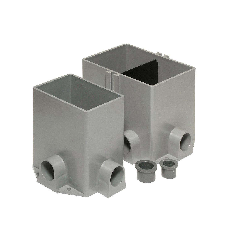 STL-CTY 641P FLOOR BOX - PLASTIC