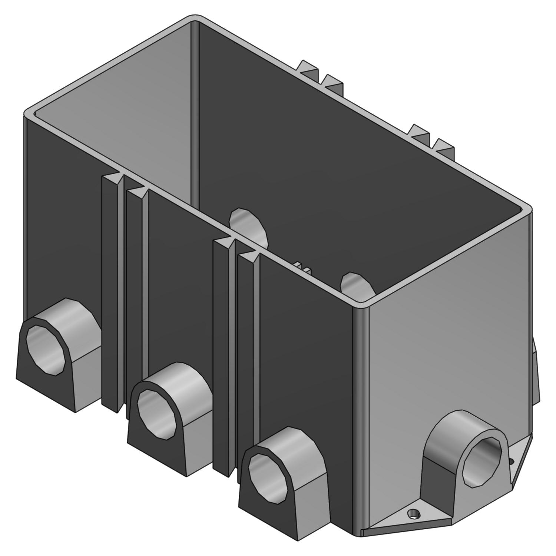 STL-CTY 643P FLOOR BOX - PLASTIC