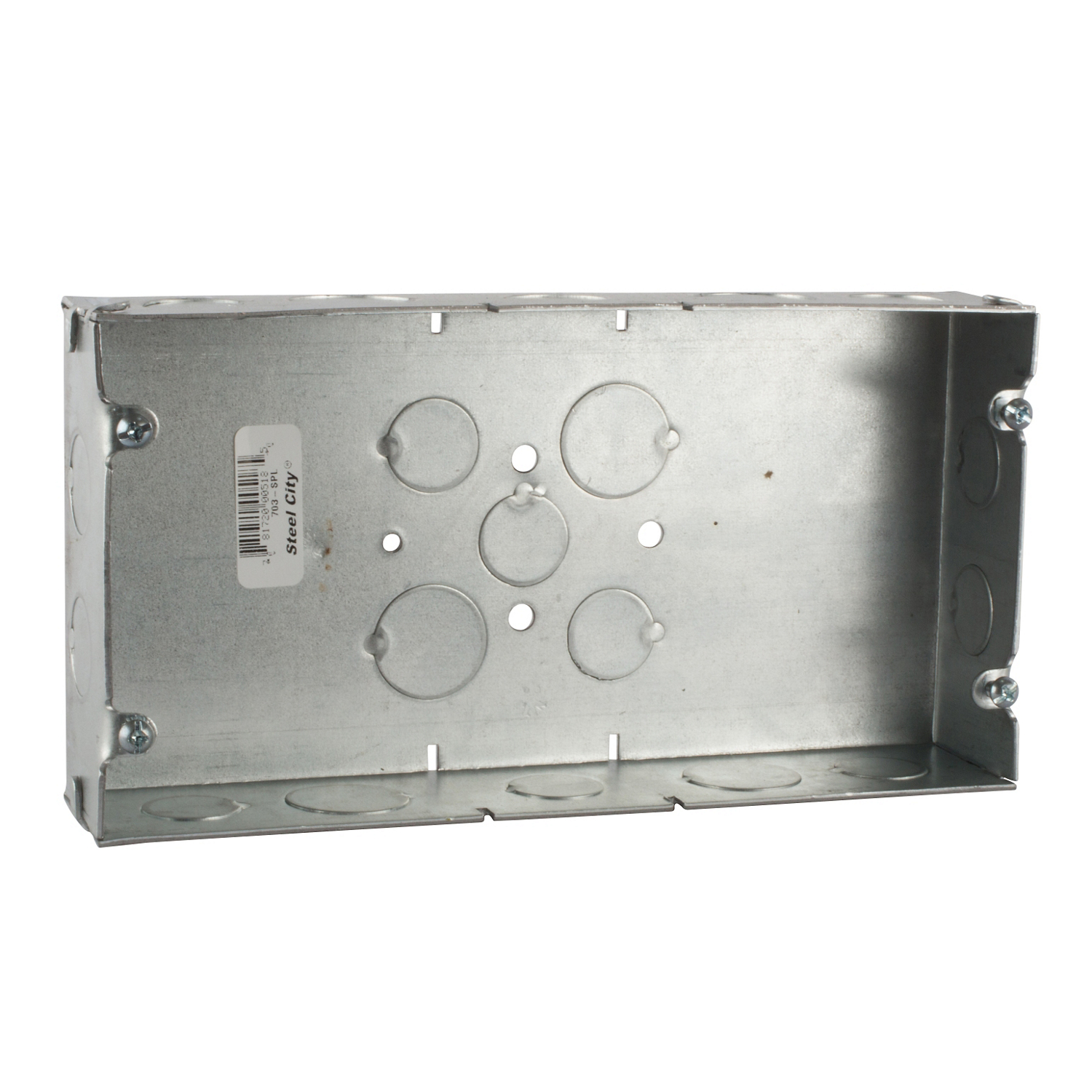 STEEL ELECT OUTLET BOX