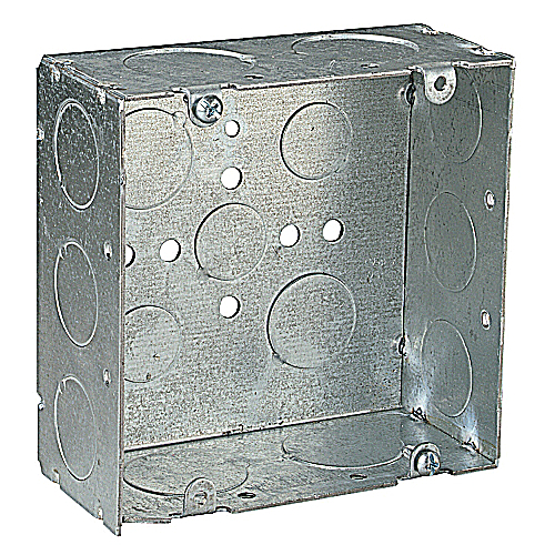 Steel City 72171-3/4-1 Steel 4 11/16 In Square Box