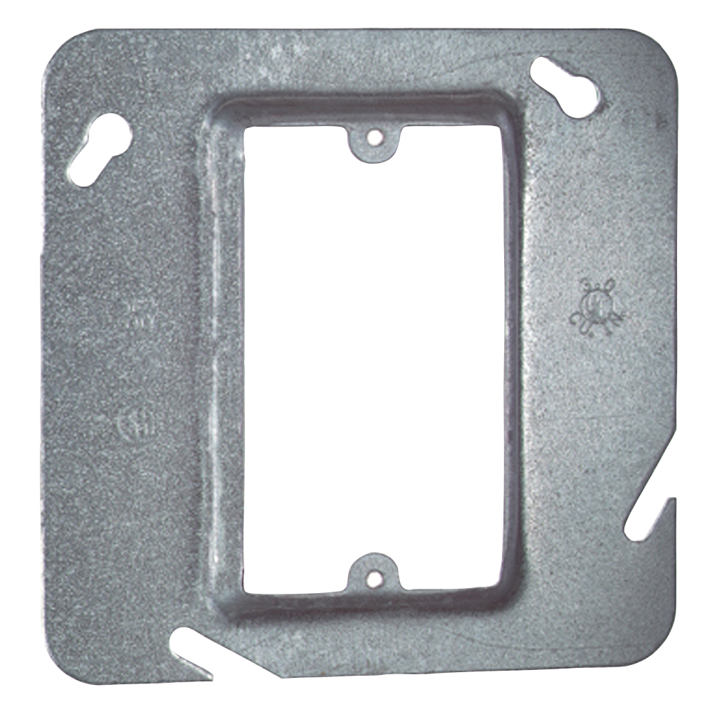 Electrical Boxes Steel Device 4 11 16in Sq Covers Mud Tile