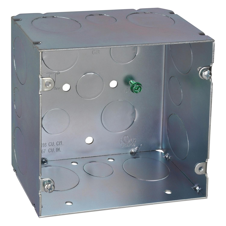 5-SQUARE BOX 1/2 & 1 KO