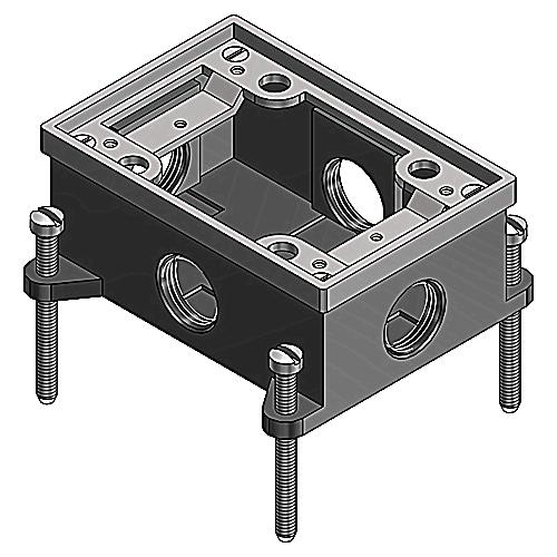 IMPROVED DESIGN, FLOOR BOX