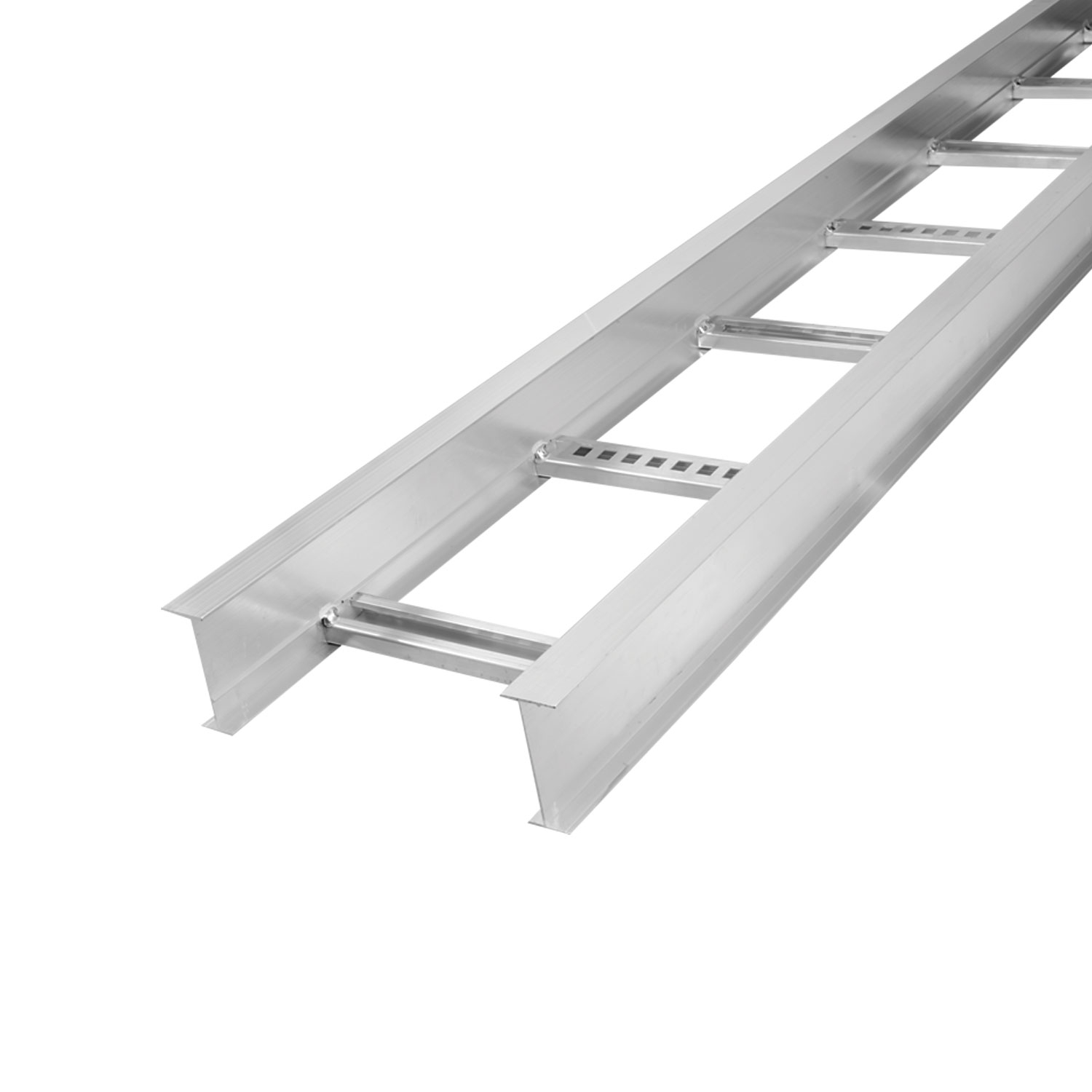 AL STR 7IN 24W LADDER TRAY 24FT