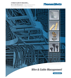catalog wire cable management literature wire cable management