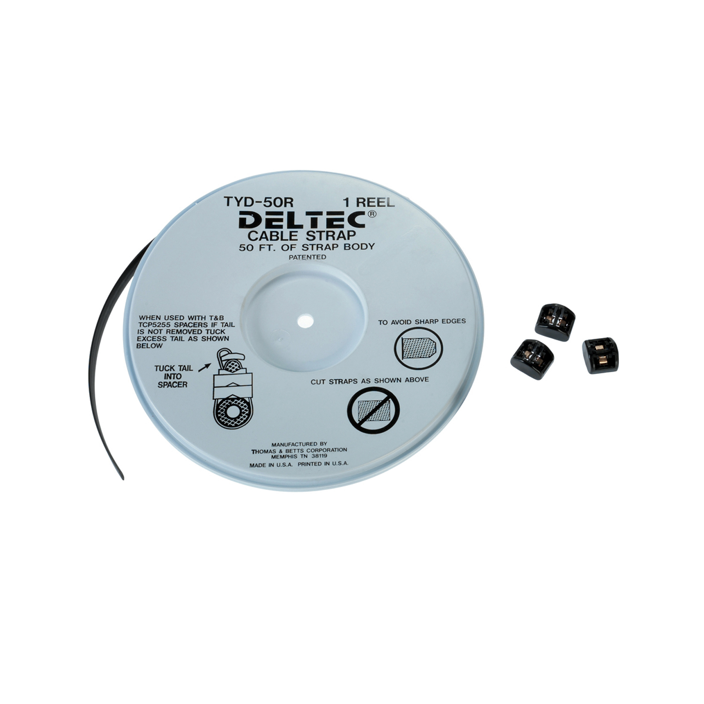 Deltec,CSS-5K,CBL TIE KIT 5 15.2MM REEL/150 HEADS