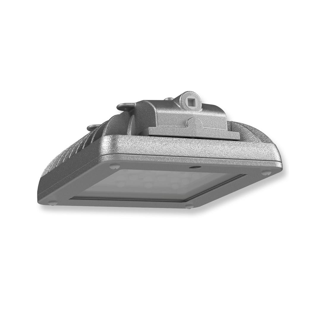 HAZ FLOOD LED C1D2 120-277V YOKE GY