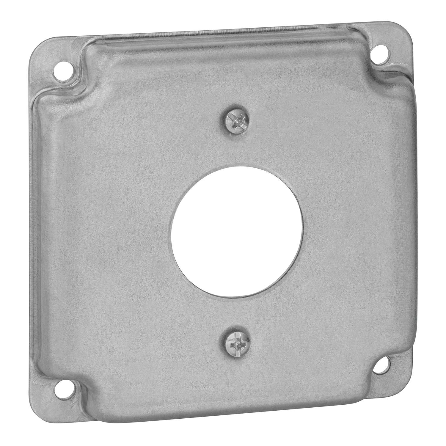 STEELCTY RS11 STEEL COVER USE W/1 SINGLE FLUSH RECEPTACLE