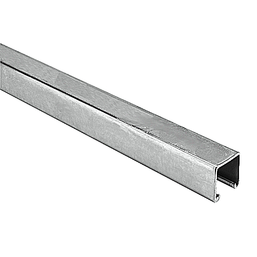 Superstrut A1200-10AL 10 Ft Aluminum Channel with Gold Galvanized Finish, 12 gauge