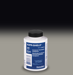 TB CP8-TB Corrosion Inhibitor - Kopr-Shield Joint Compound, 8 Oz Container with Brush CS=12