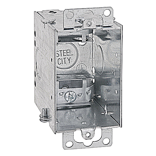 Steel City CWX-25 Single Gang Switch Box