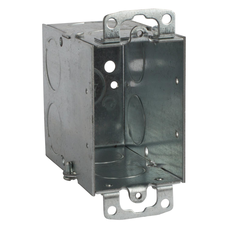 STL-CTY CY-3/4 3-1/2D SW BOX W/EARS